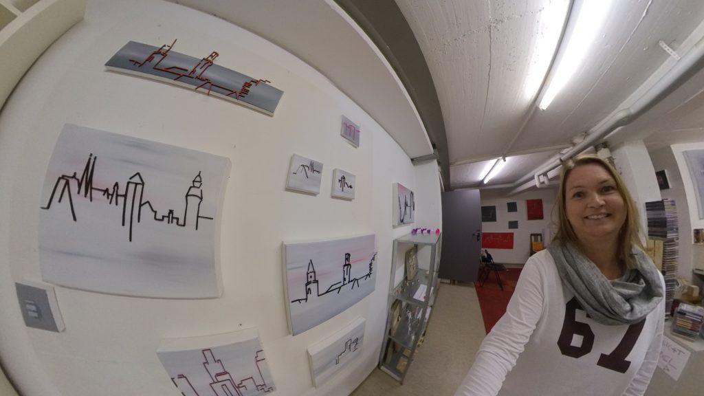 Karla Köhler in ihrem Atelier